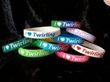 Silicone-bracelet-I-love-twirling