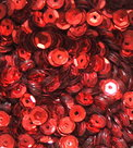 Sequins-5mm-red
