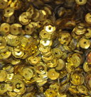 Sequins-5mm-yellow