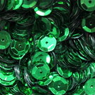 Sequins-8mm-green