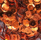 Sequins-8mm-orange