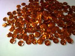 Laser-Pailletten-8mm-Kupfer-Orange