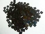 Vierkante-Laser-pailletten-7mm-zwart
