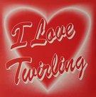 Sticker-hart-I-love-Twirling