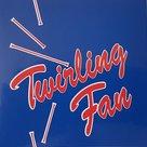 Sticker-blauw-rood-twirling-fan