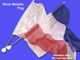 """Vlag voor 25"""" vlagbaton_"""