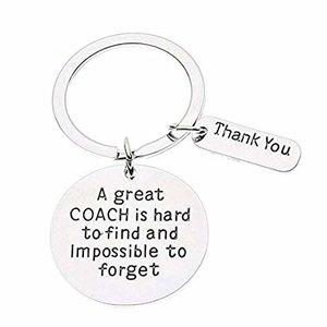 """Sleutelhanger """"A great Coach..."""""""