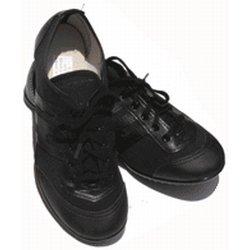 Instep twirlschoenen zwart