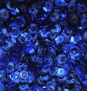Pailletten 5mm blauw