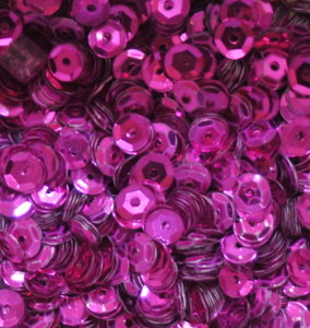 Pailletten 5mm fuchsia