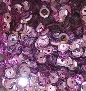 Pailletten 5mm roze