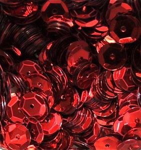 Pailletten 8mm rood