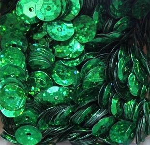 Laserpailletten 5mm groen