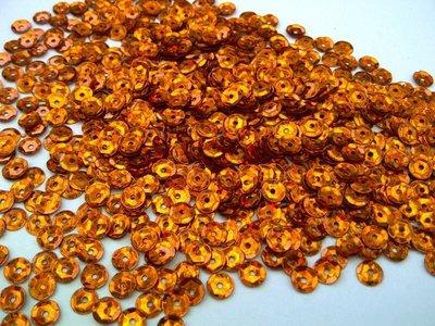 Laserpailletten 5mm oranje/koper