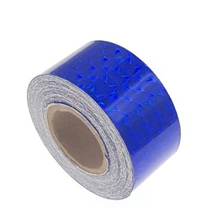 Hologram tape blauw 25mm