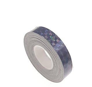 Hologram tape zwart 12.5mm