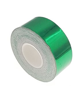 Metallic tape groen 25mm