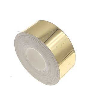 Metallic tape goud 25mm
