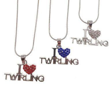 Ketting I love Twirling