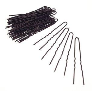Épingles à cheveux épaisbrun 68mm