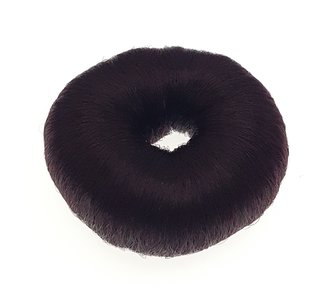 Hair bun Doughnut Brown