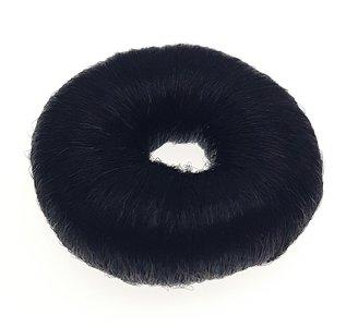 Donut kunsthaar Zwart