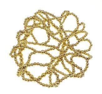 Knotnetje kraaltjes goud