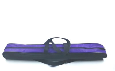 Batontas nylon zwart-paars