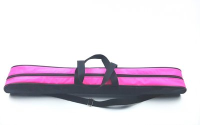 Batontas nylon zwart-neon roze