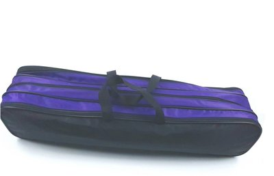 Batontas nylon groot zwart-paars