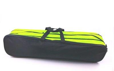 Batontas nylon groot zwart / neon-groen
