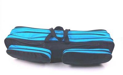 Batontas XL zwart/blauw