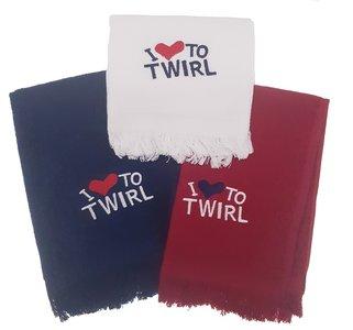 Handdoekje I love to twirl