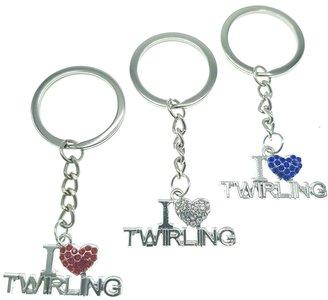 Sleutelhanger I love Twirling