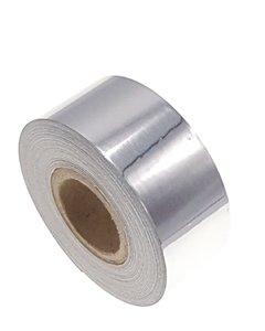 Metallic tape zilver 25mm