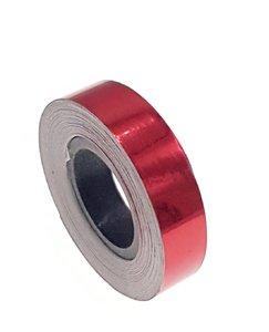 Metallic tape rood 12.5mm