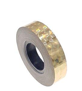 Hologram tape goud 12.5mm