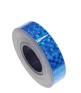 Hologram tape blauw 12.5mm