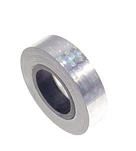 Hologram tape zilver 12.5mm