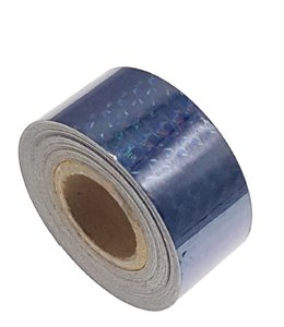 Hologram tape zwart 25mm
