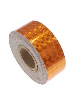 Hologram tape oranje 25mm