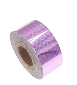 Hologram tape roze 25mm