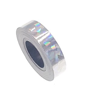 Cracked Ice tape zilver 12.5mm
