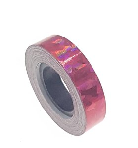 Cracked Ice tape rood 12.5mm