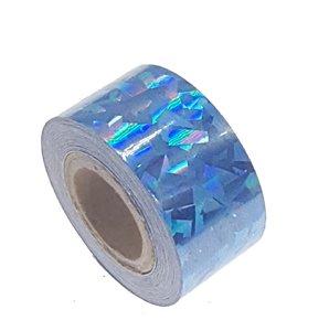 Cracked Ice tape blauw 25mm