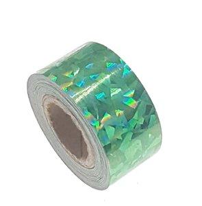 Cracked Ice tape groen 25mm