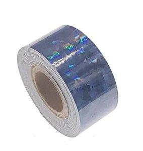 Cracked Ice tape zwart 25mm