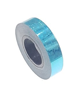 Pailletten tape licht blauw 12.5mm