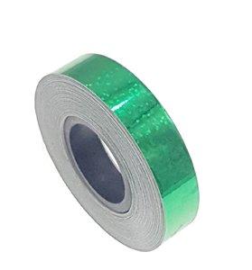 Pailletten tape groen 12.5mm