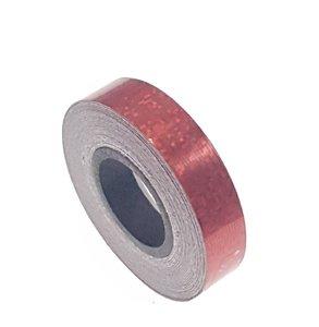 Pailletten tape rood 12.5mm